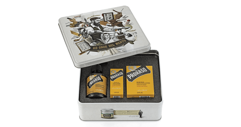 Proraso Beard Care Tin - Care For Every Stage of Beard