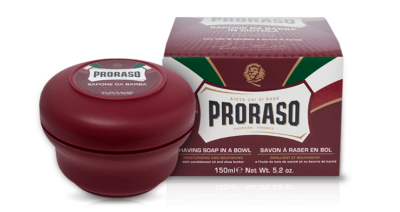 Proraso Shaving Soap In A Bowl - Soothing & Nourishing